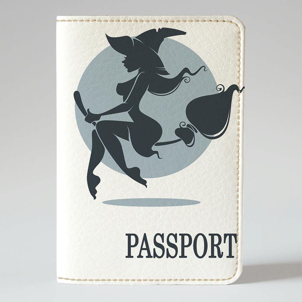 Обложка на паспорт Fisher Gifts 159 Ведьмочка (эко-кожа)
