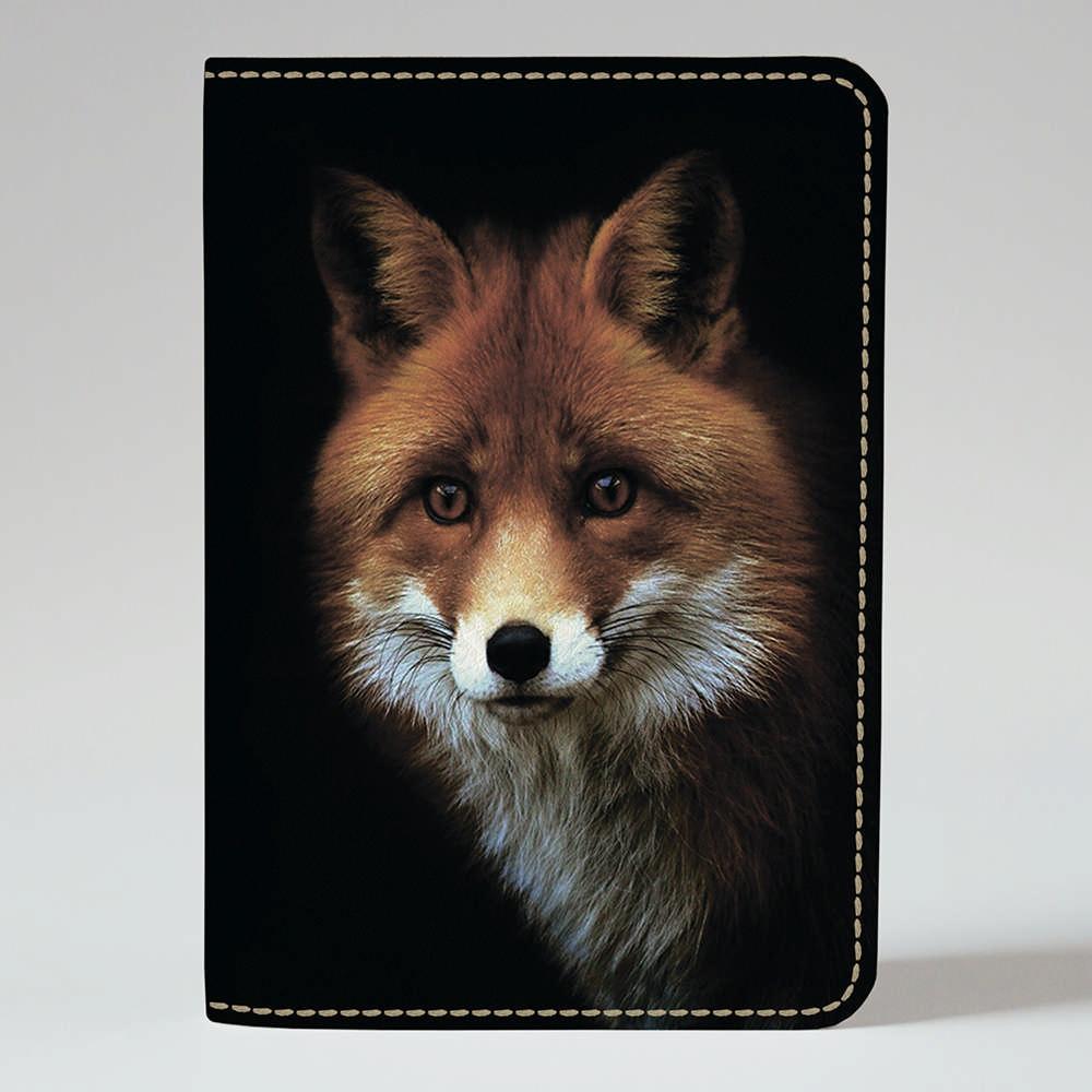 Обложка на паспорт Fisher Gifts 186 Лисичка в темноте (эко-кожа)