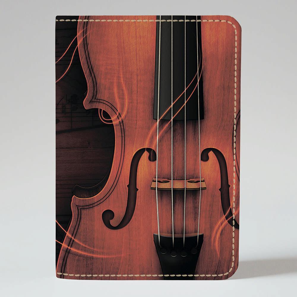 Обложка на паспорт Fisher Gifts 208 Скрипка (эко-кожа)