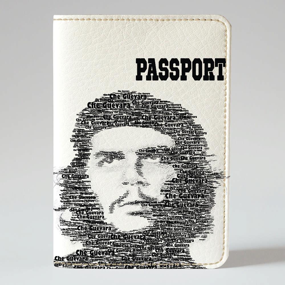 Обложка на паспорт v.1.0. Fisher Gifts 216 Че Гевара революционер (эко-кожа)