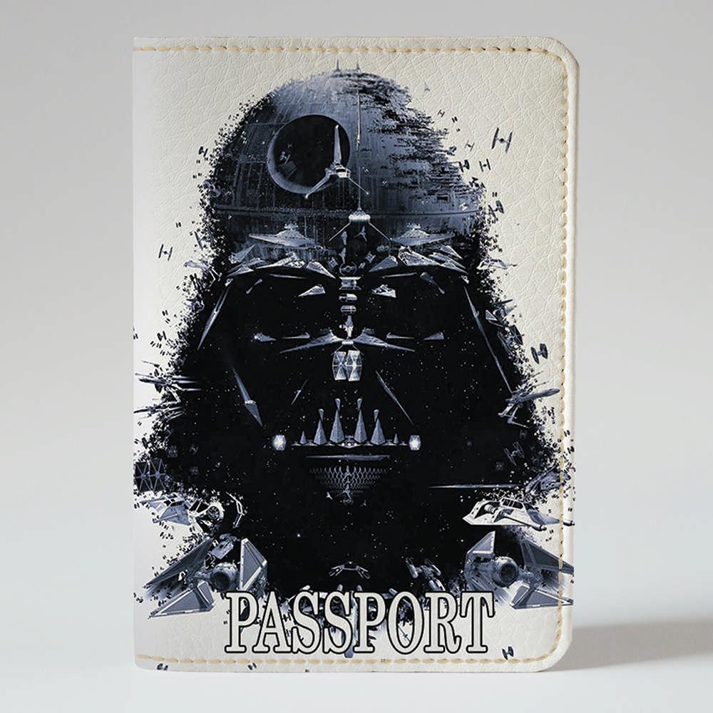 Обложка на паспорт v.1.0. Fisher Gifts 218 Дарт Вейдер арт (эко-кожа)