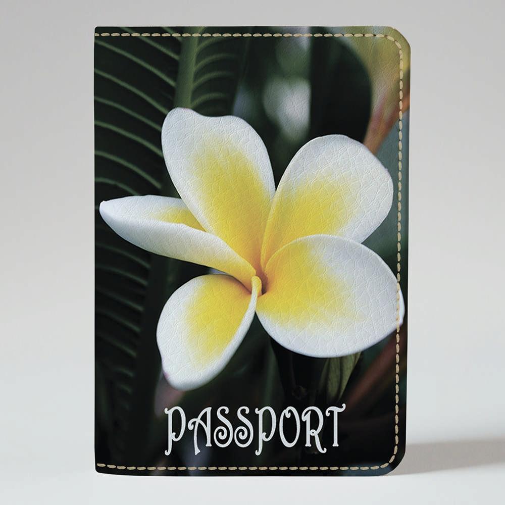 Обложка на паспорт Fisher Gifts 247 Гипнотический цветок (эко-кожа)