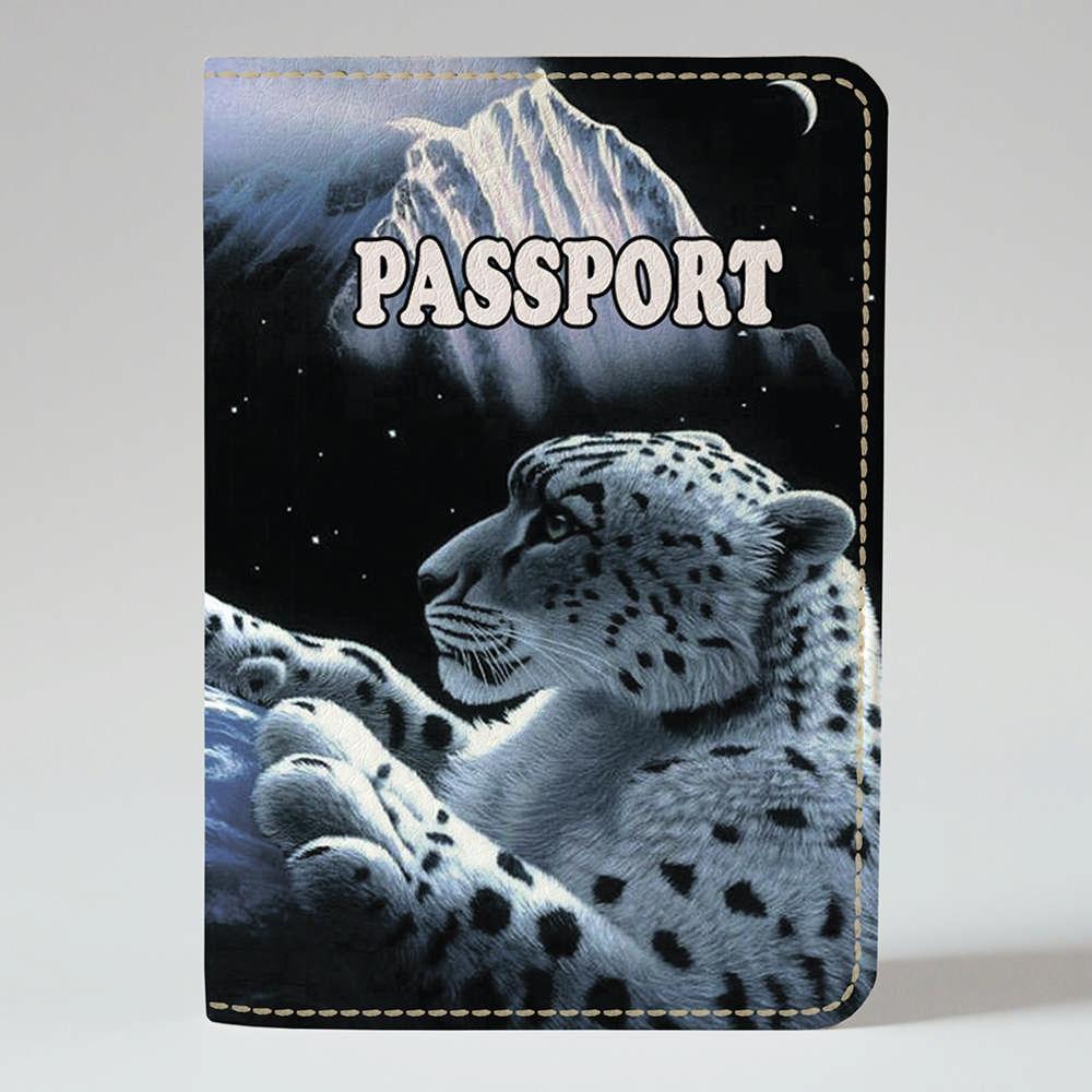 Обложка на паспорт Fisher Gifts 275 Космический гепард (эко-кожа)