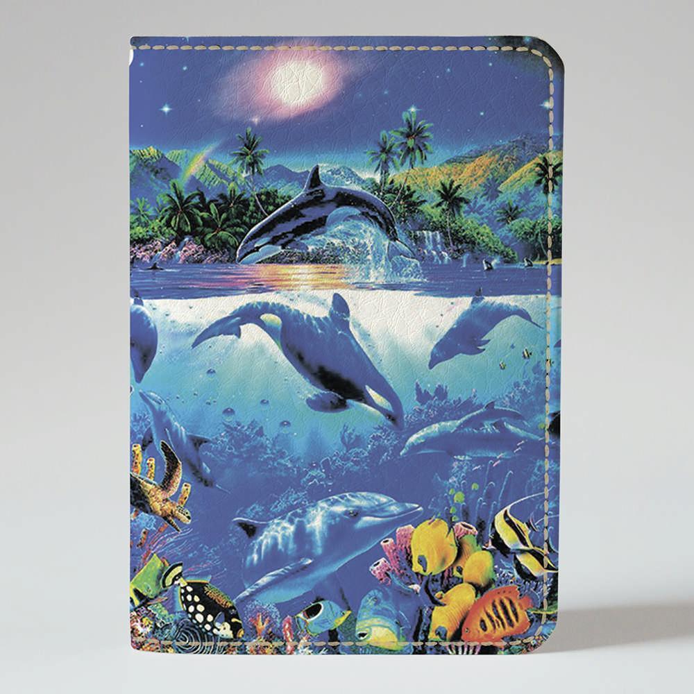 Обложка на паспорт Fisher Gifts 292 Живое море (эко-кожа)