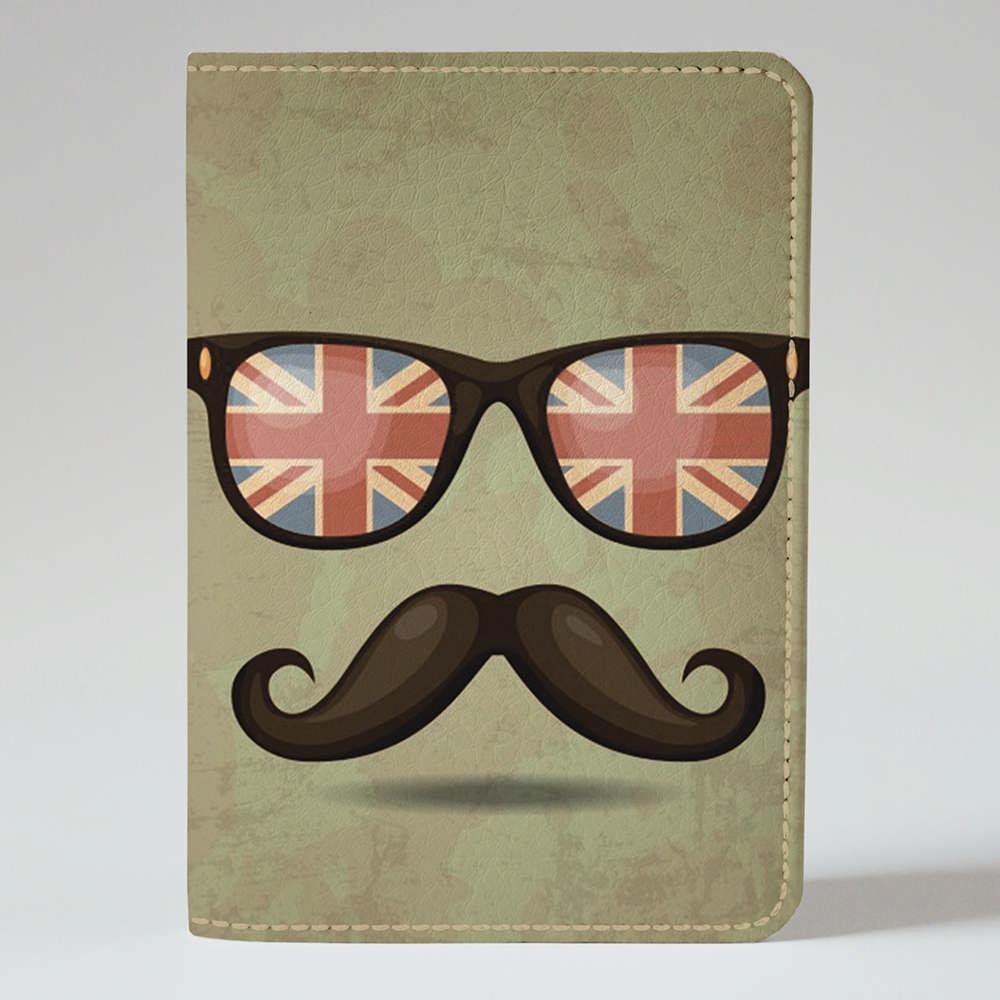 Обложка на паспорт v.1.0. Fisher Gifts 307 Английские усы (эко-кожа)