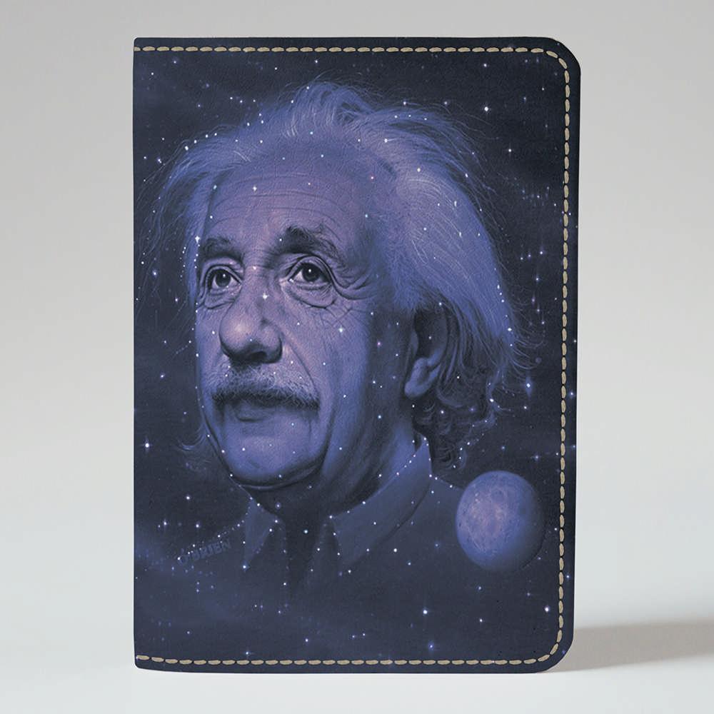 Обложка на паспорт Fisher Gifts 320 Альберт Эйнштейн космос (эко-кожа)