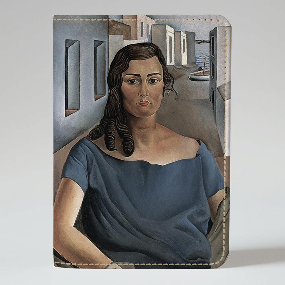 Обложка на паспорт v.1.0. Fisher Gifts 328 Анна Мария. Сальвадор Дали (эко-кожа)