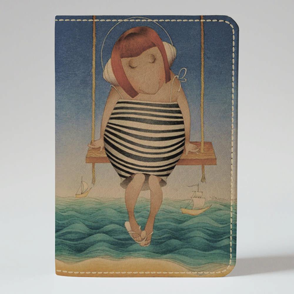 Обложка на паспорт v.1.0. Fisher Gifts 336 Марийка (эко-кожа)