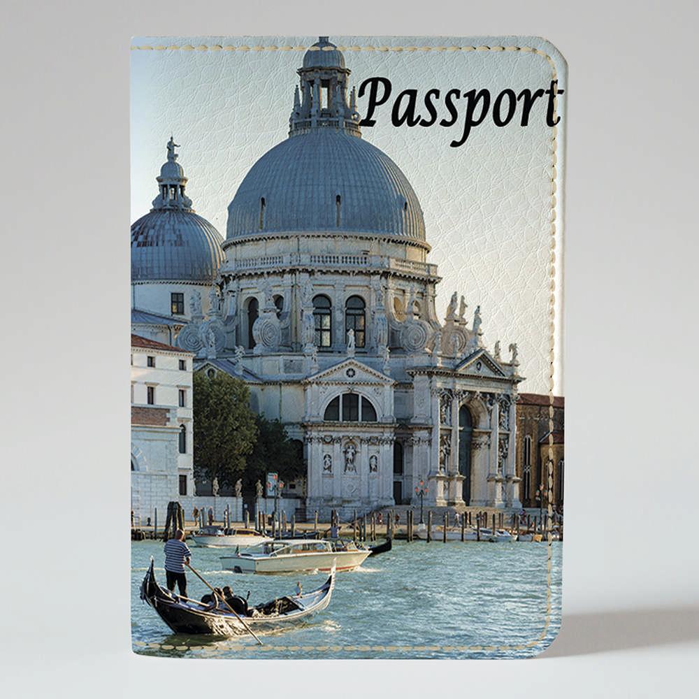 Обложка на паспорт v.1.0. Fisher Gifts 342 Венеция днем (эко-кожа)
