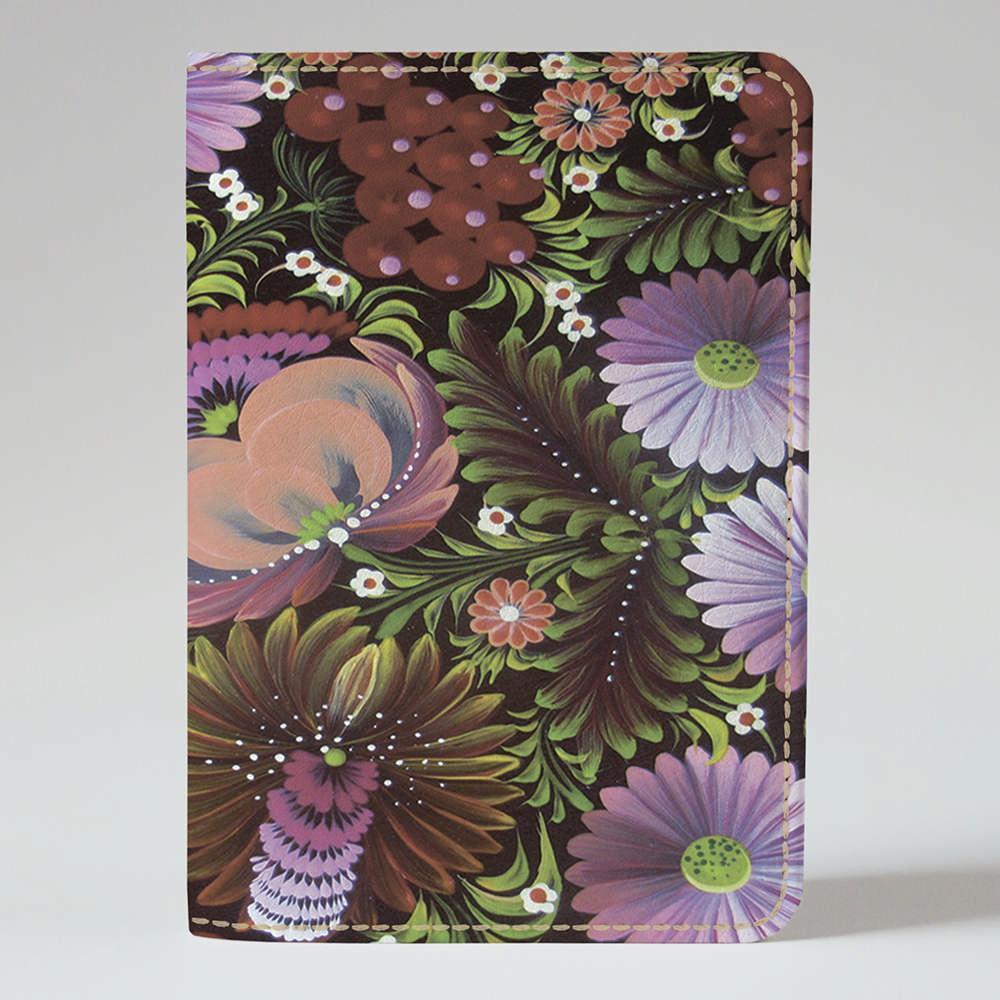 Обложка на паспорт Fisher Gifts 368 Петриковская роспись - 4 (эко-кожа)