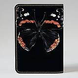 Обложка на паспорт v.1.0. Fisher Gifts 372 Черная бабочка (эко-кожа), фото 2