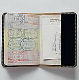 Обложка на паспорт v.1.0. Fisher Gifts 372 Черная бабочка (эко-кожа), фото 4