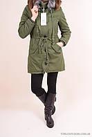 Куртка-парка (color C-03) женская зимняя на меху Lanmas Размеры в наличии : 44,46,48,50 арт.R-9923