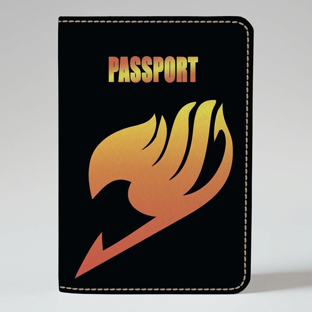 Обложка на паспорт Fisher Gifts 396 FairyTail 8 (эко-кожа)