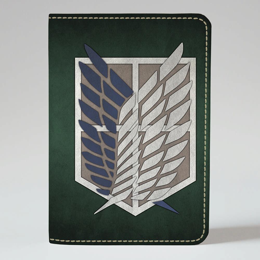 Обложка на паспорт v.1.0. Fisher Gifts 413 Attack on Titan 8 (эко-кожа)