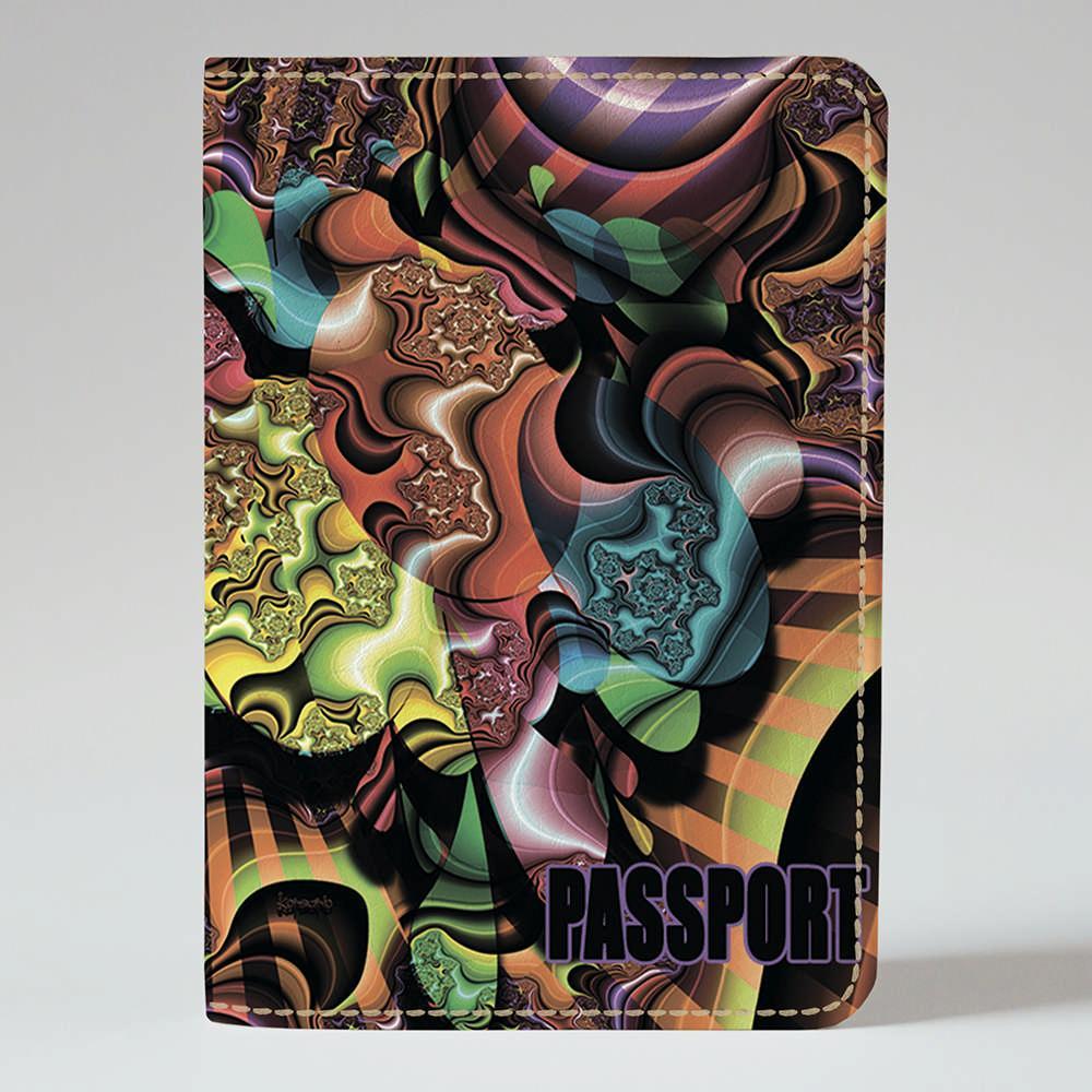 Обложка на паспорт Fisher Gifts 450 Придумай сам (эко-кожа)