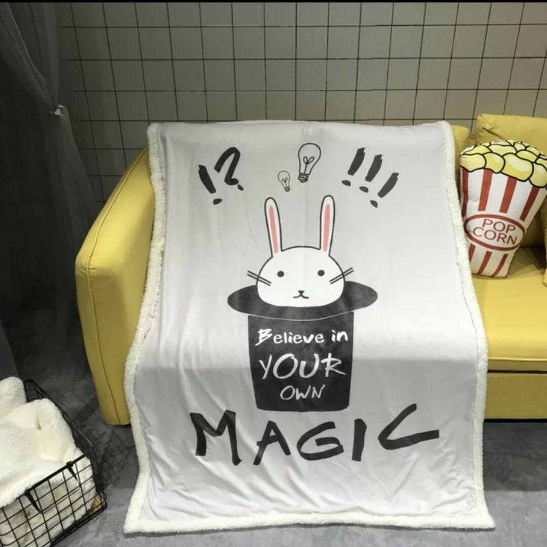 """Детское одеяло - плед """"Magic Rabbit""""  - Bo Bo - kids  - магазин товаров для детей и мам в Киеве"""