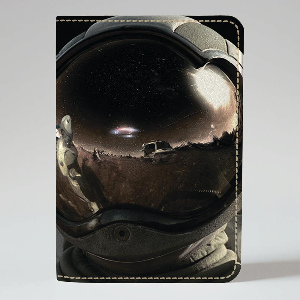 Обложка на паспорт v.1.0. Fisher Gifts 520 Космонавт в скафандре (эко-кожа)