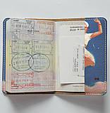 Обложка на паспорт v.1.0. Fisher Gifts 543 Пин-ап. Морячка (эко-кожа), фото 4