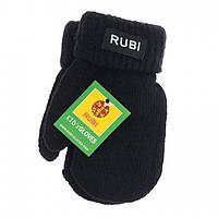 Варежки детские на флисе Rubi 2014