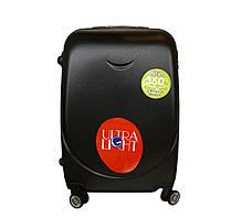 Дорожный чемодан с двойными 4 колесами набор 3 штуки черный, артикул: 6-243