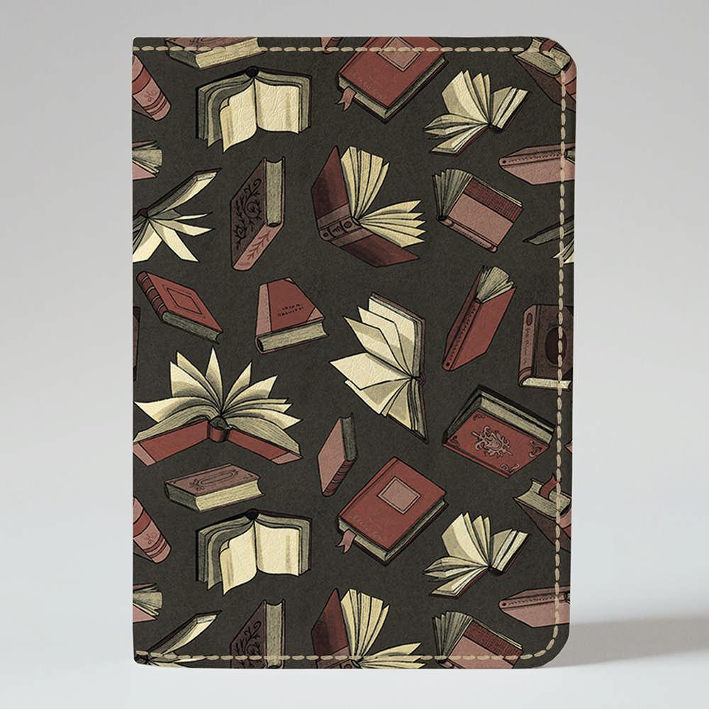 Обложка на паспорт Fisher Gifts 635 Книги вразвалочку (эко-кожа)
