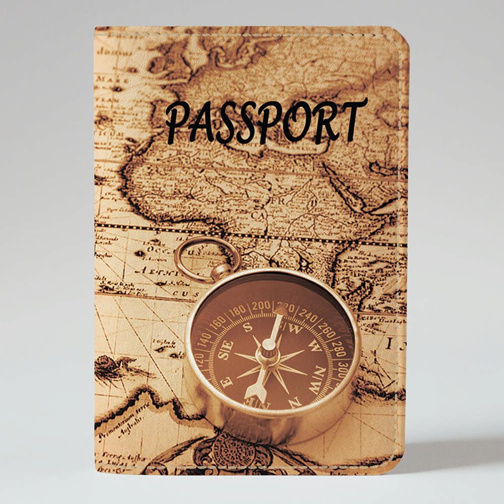 Обложка на паспорт Fisher Gifts 658 Компас решений (эко-кожа)