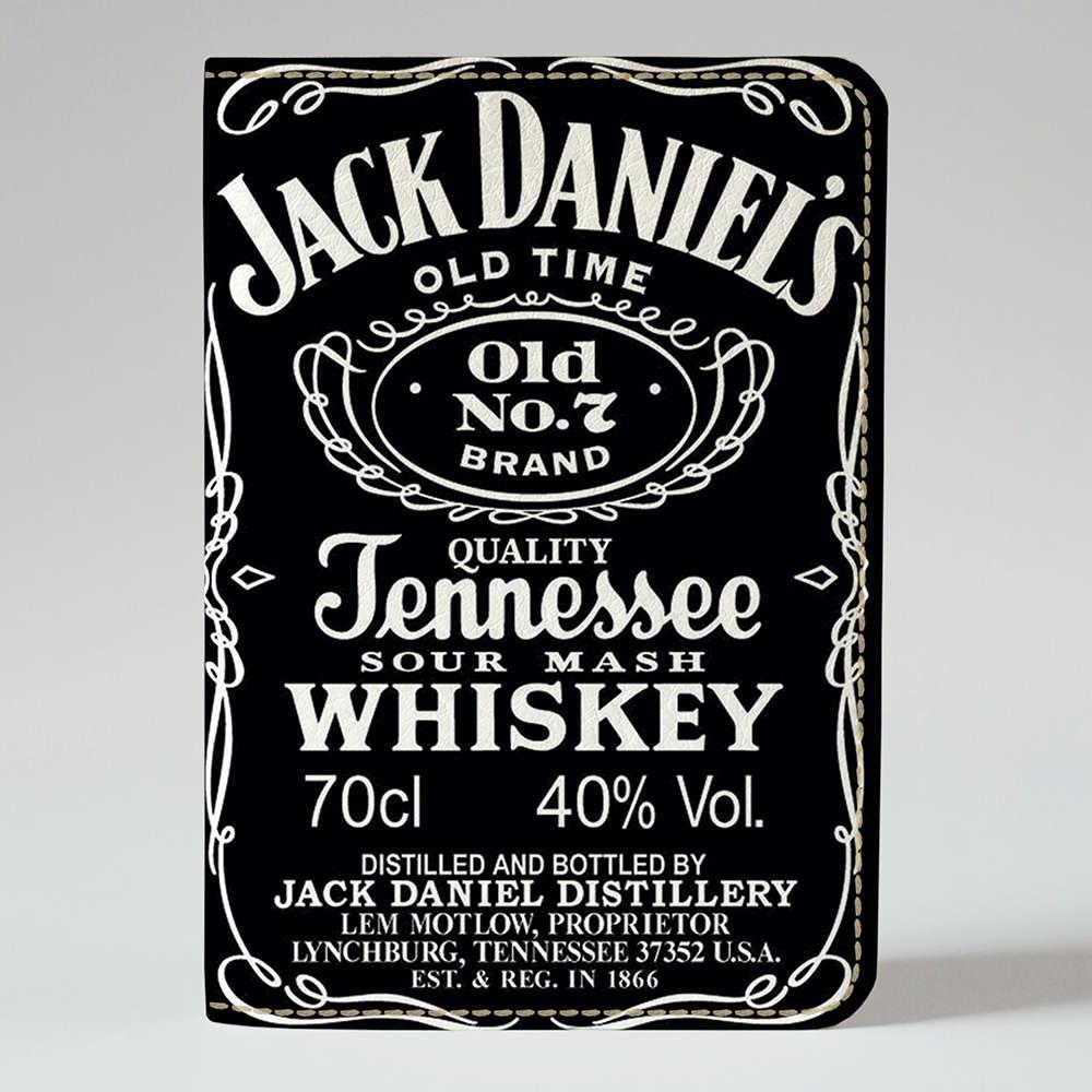 Обложка на паспорт Fisher Gifts 661 Jack Daniels (эко-кожа)