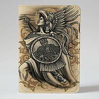 Обложка на паспорт Fisher Gifts 662 Последняя из ацтеков (эко-кожа)