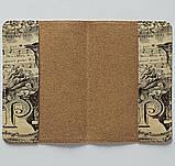 Обложка на паспорт v.1.0. Fisher Gifts 668 Ноты и птица (эко-кожа), фото 3