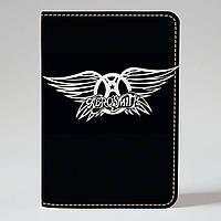 Обложка на паспорт v.1.0. Fisher Gifts 737 Aerosmith (эко-кожа)