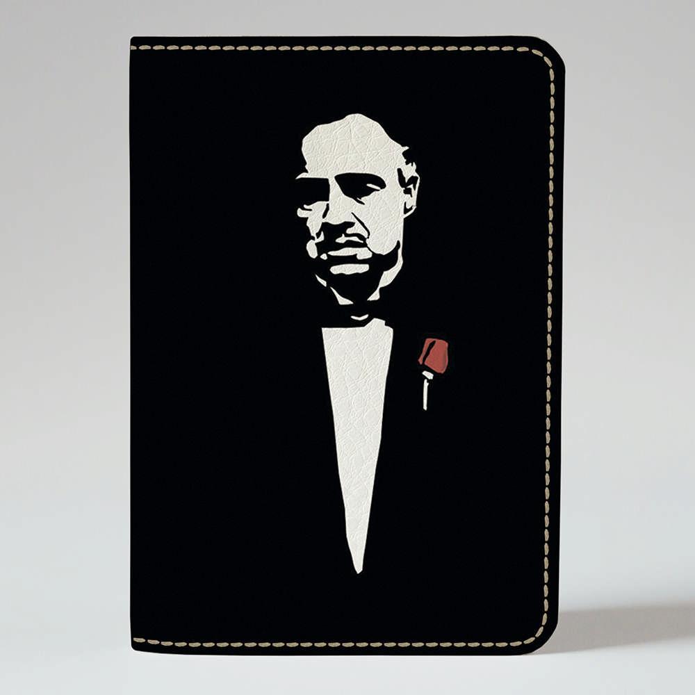 Обложка на паспорт v.1.0. Fisher Gifts 760 Вито Корлеоне 2 (эко-кожа)