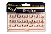 Пучковые ресницы AISE LINE (Short)