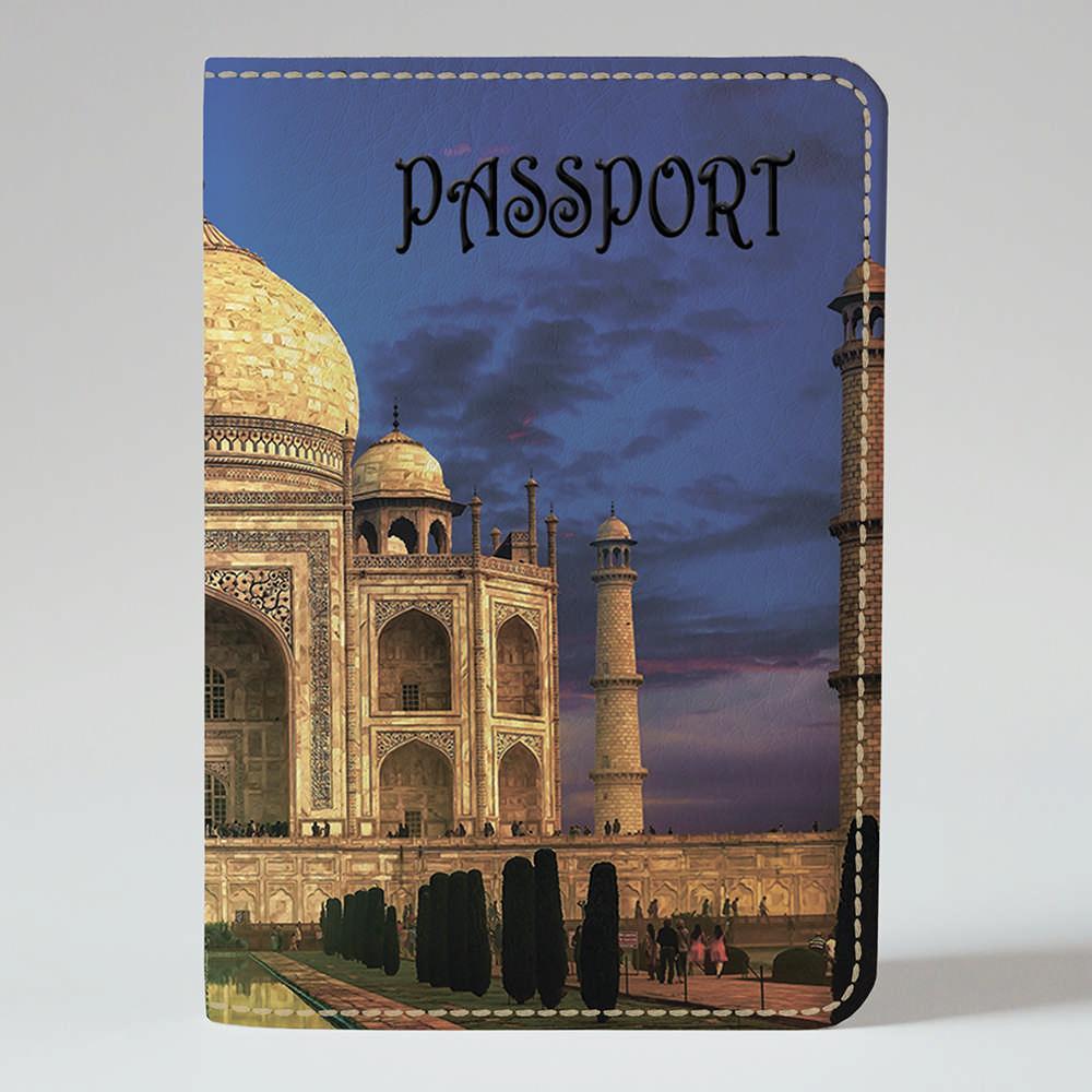Обложка на паспорт 1.0 Fisher Gifts 799 Тадж Махал (эко-кожа)