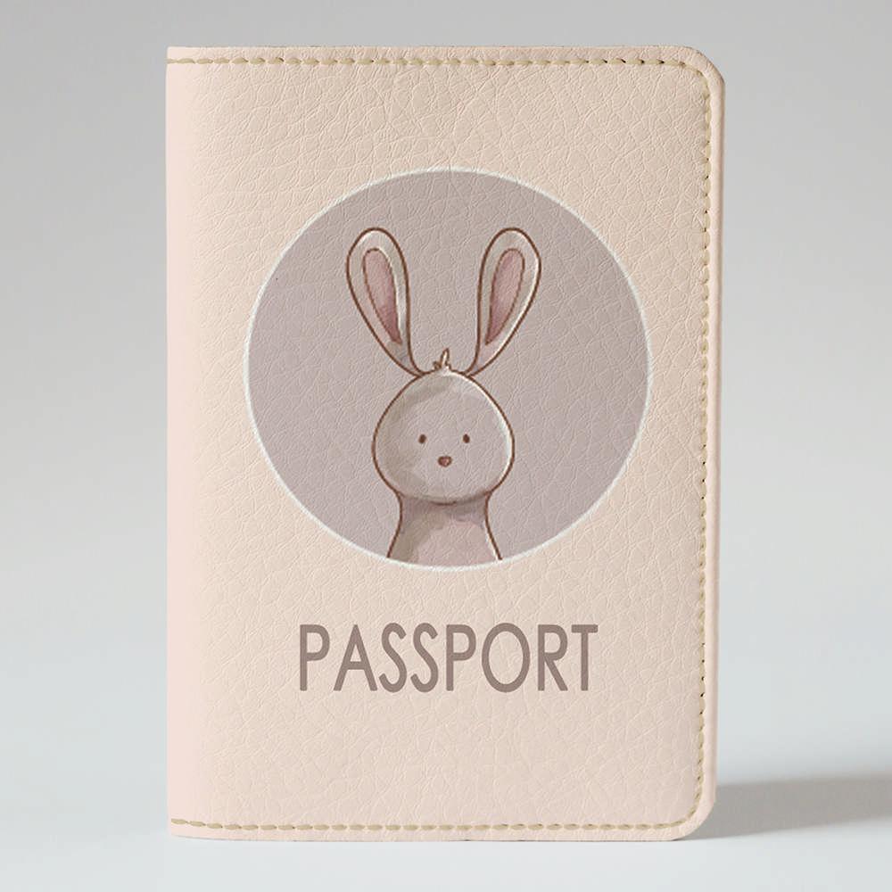 Обложка на паспорт Fisher Gifts 806 Лесной зайка (эко-кожа)