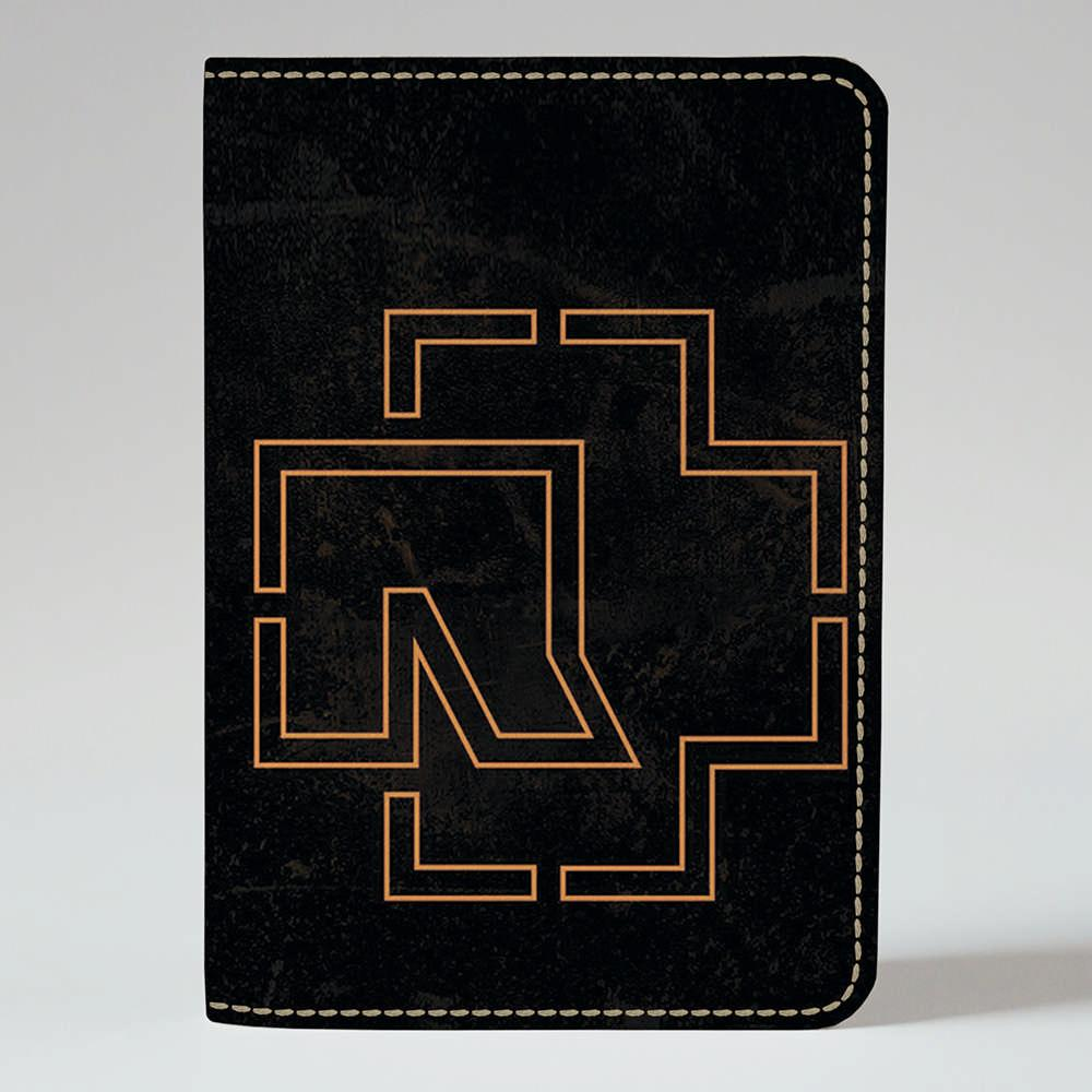 Обложка на паспорт v.1.0. Fisher Gifts 831 Rammstein logo (эко-кожа)