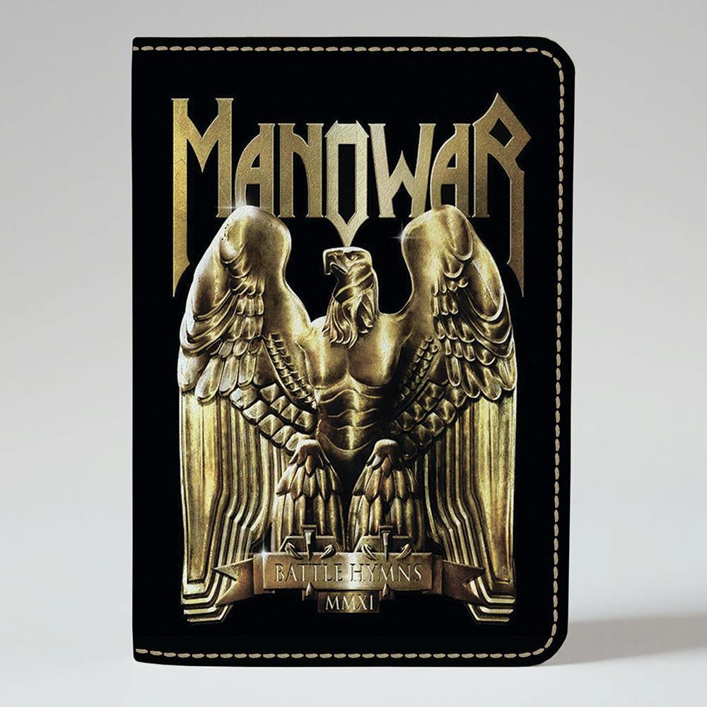 Обложка на паспорт v.1.0. Fisher Gifts 849 Manowar 2 (эко-кожа)