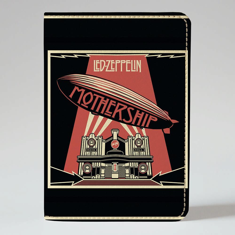 Обложка на паспорт v.1.0. Fisher Gifts 853 Led Zeppelin. Mothership (эко-кожа)