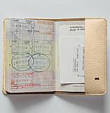Обложка на паспорт v.1.0. Fisher Gifts 856 Ням ням (эко-кожа), фото 4