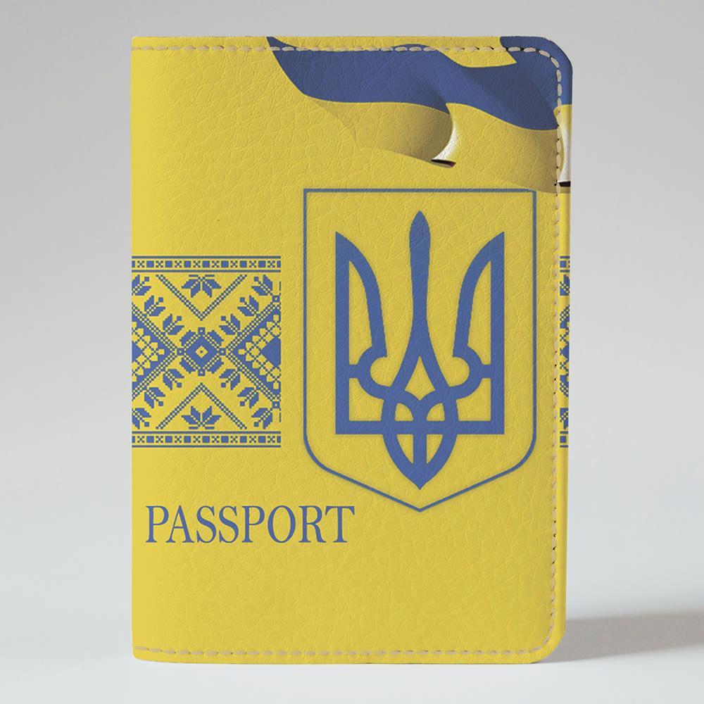 Обложка на паспорт 1.0 Fisher Gifts 868 Цвета независимости (эко-кожа)