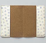 Обложка на паспорт v.1.0. Fisher Gifts 885 Морские приключения фон (эко-кожа), фото 3