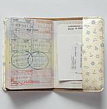 Обложка на паспорт v.1.0. Fisher Gifts 885 Морские приключения фон (эко-кожа), фото 4