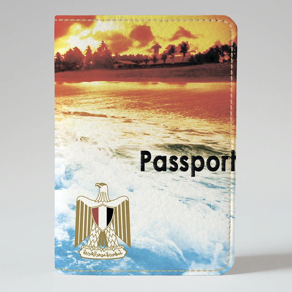 Обложка на паспорт Fisher Gifts 908 Красное море (эко-кожа)