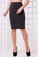 Женская юбка-карандаш с шерстью в составе в расцветках 471144