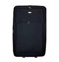 Дорожный чемодан 2 колеса (большой) чёрный, артикул: 12126-50, фото 1