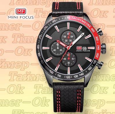 Изображение мужских наручных часов Mini Focus Red В