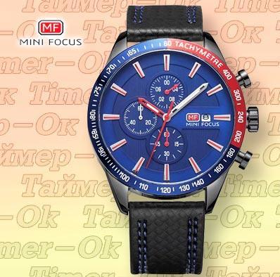 Изображение мужских наручных часов Mini Focus Blue B