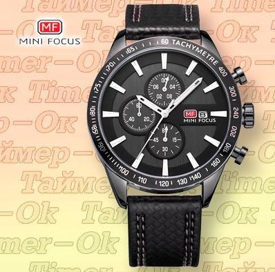 Изображение мужских наручных часов Mini Focus Black B
