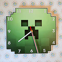 Часы настенные Minecraft