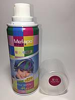 Спрей краска для волос Mefapo. Цвет бардовый.